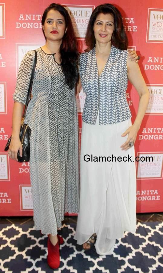 Sona Mohapatra and Sangeeta Bijlani