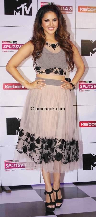 Sunny Leone at the press conference of MTV Splitsvilla 8