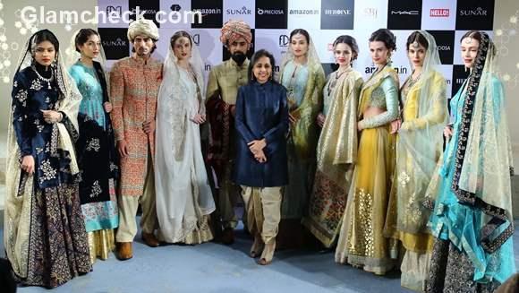 Amazon Couture Week 2015 - Anju Modi collection Kashish
