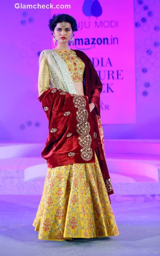 Anju Modi Collection at Amazon Couture Week 2015