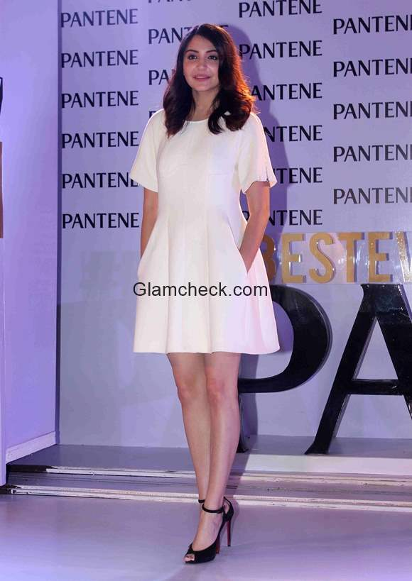 Anushka Sharma in White Dress