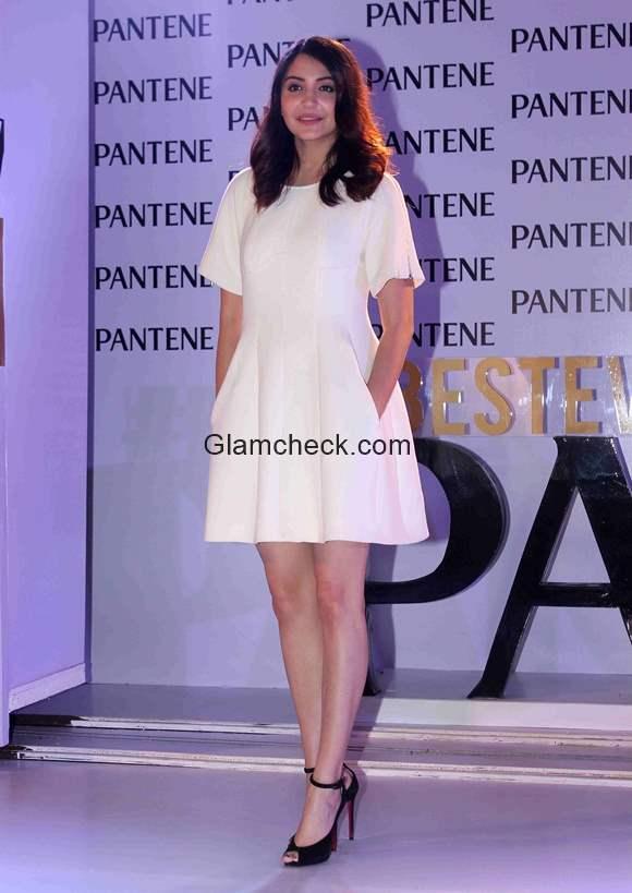 Anushka Sharma Launches Of Best Ever Pantene