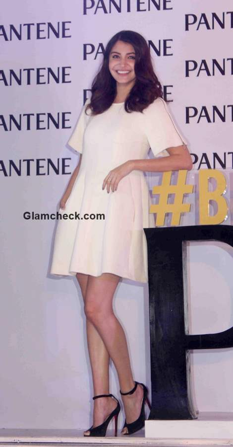 Anushka Sharma launches of Best Ever Pantene