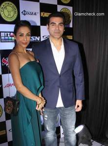 Arbaaz and Malaika at the launch of Transform Gym