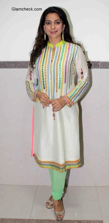 Juhi Chawla attends Samvaad by Navbharat Times