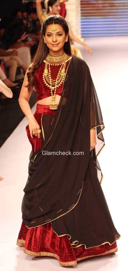 Juhi Chawla for Tanishq India International Jewellery Week 2015
