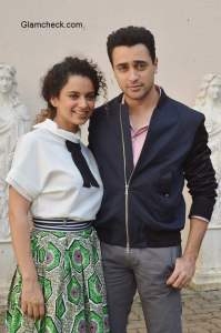 Kangana Ranaut and Imran Khan promote 'Katti Batti' in Mumbai