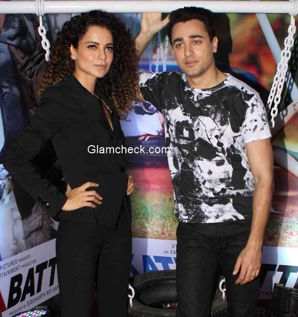 Kangana Ranaut and Imran Khan promote Katti Batti