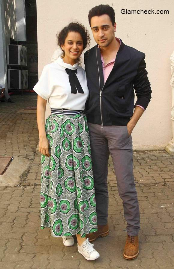 Kangana and Imran promote Katti Batti in Mumbai