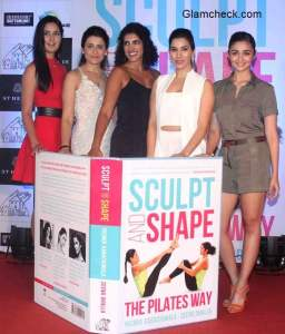 Katrina Alia and Sophie at the book launch of Sculpt and Shape The Pilates Way