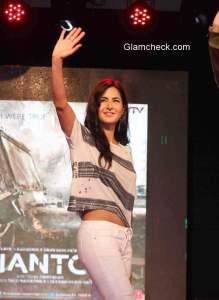 Katrina Kaif during the promotion of 'Phantom'