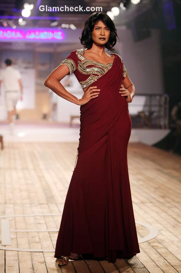 Monisha Jaising collection Amazon India Couture Week 2015