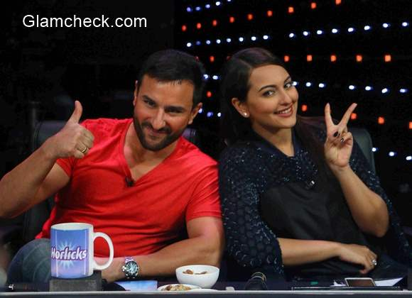 Phantom Promotions on the sets of Indian Idol Junior 2015