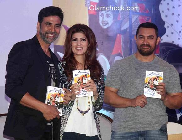 Twinkle Khanna launches her debut book Mrs Funnybones