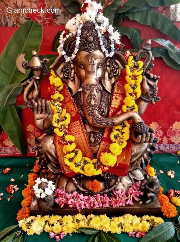 Ganesh Chaturthi Decoration I Indian Youtuber