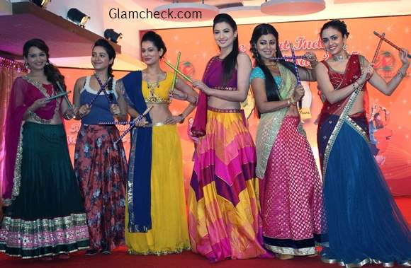 Ghagra Looks for Dandiya - Celeb inspired