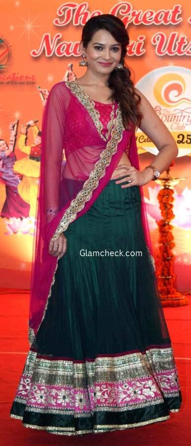Ghagra choli for Dandiya