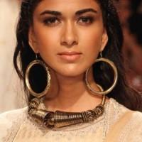 Hoop Earrings Indian Winter Festive look