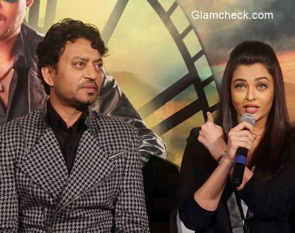 Irrfan Khan and Aishwarya Rai Bachchan releases the trailer of Jazbaa