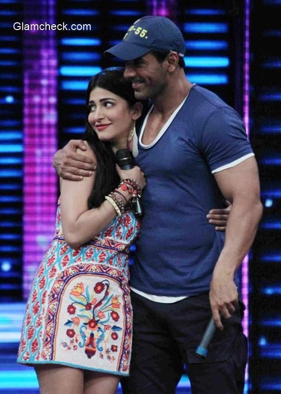 John and Shruti Haasan promote 'Welcome Back' on Dance Plus