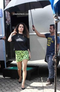 Kangana Ranaut at Katti Batti promotion