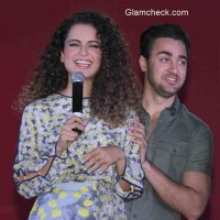 Kangana and Imran visit Sophia College to promote film Katti Batti