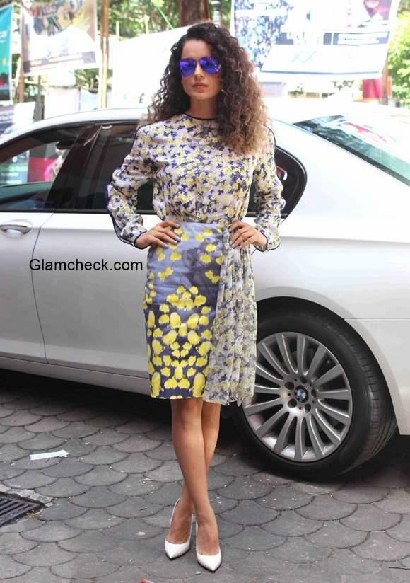 Kangana promotes film Katti Batti