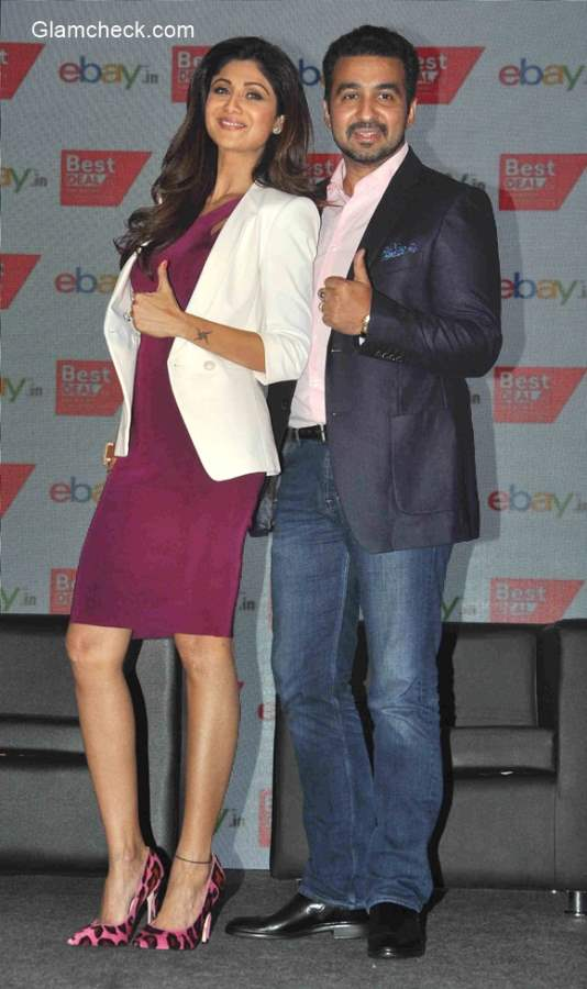 Raj Kundra Shilpa Shetty announce partnership between Best Deal TV and eBay