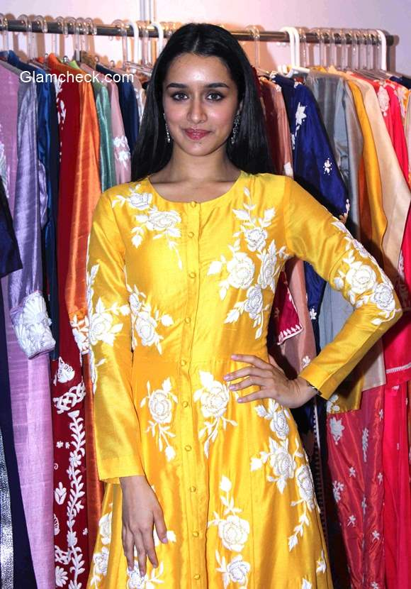 Shraddha Kapoor at inauguration of the IMC ladies wing exhibition