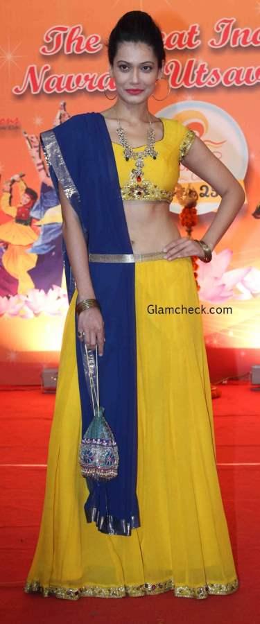 Yellow Ghagra for Dandia