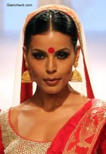 Traditional Bengali Makeup