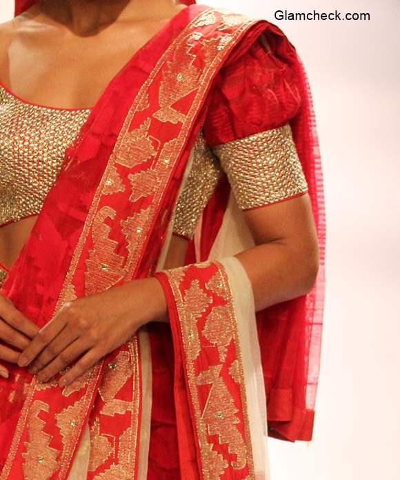 Traditional Bengali Blouse Design