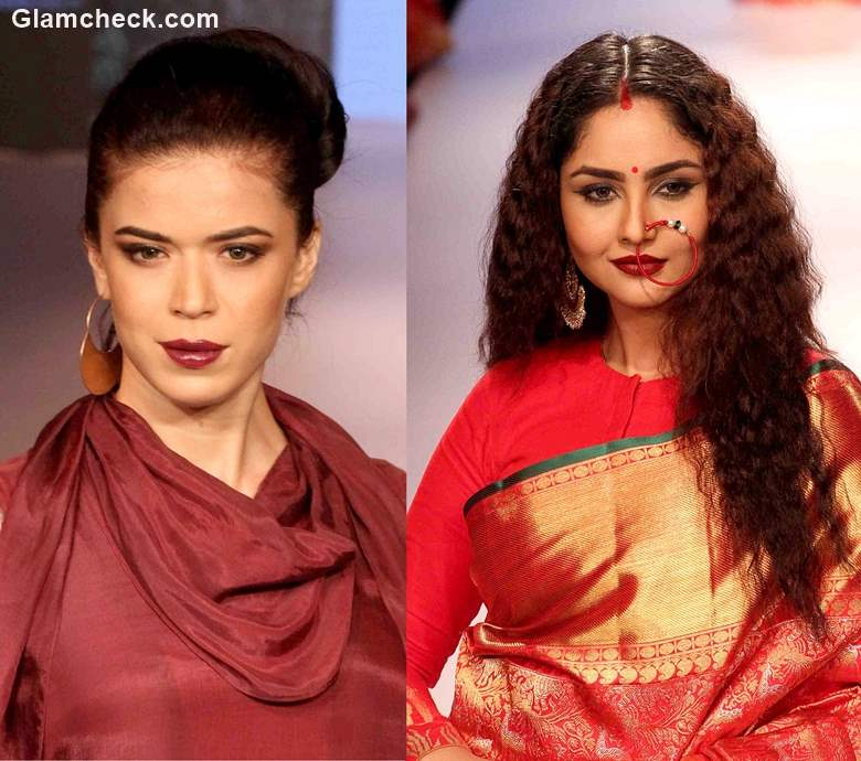 Color for Indian Skin Tone Burgundy