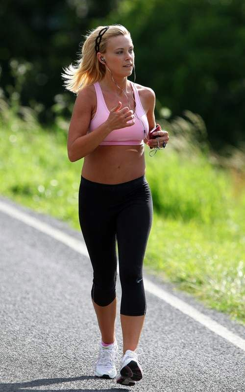 Running Shoes Top Lace Tight