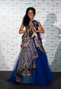 Miss India Universe 2010 evening gowns controversy