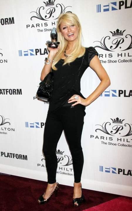 Paris Hilton Launches Her Shoe Line
