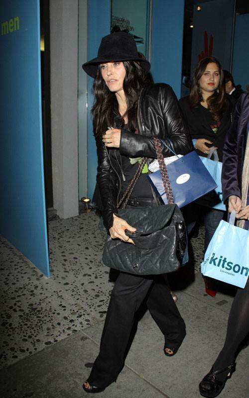 Its charity time for Courtney Cox