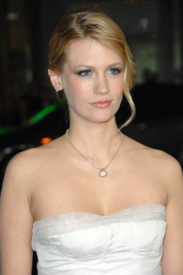 January Jones named the face of Versace