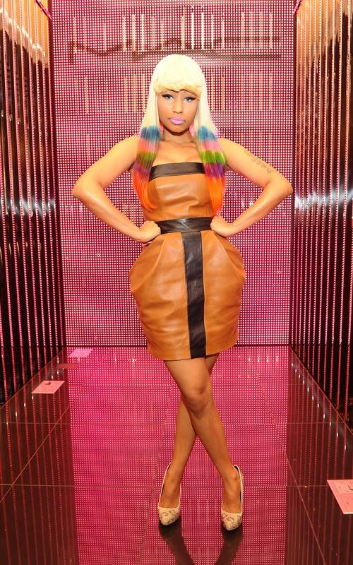 Nicki Minaj launches Pink Friday Lipstick