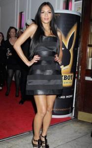 Nicole Scherzinger at Playboy Energy Drink Launch Party
