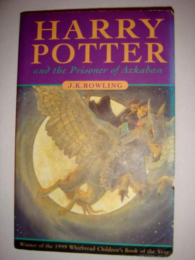 Harry Potter Book First Edition : Rare first edition harry potter book stolen