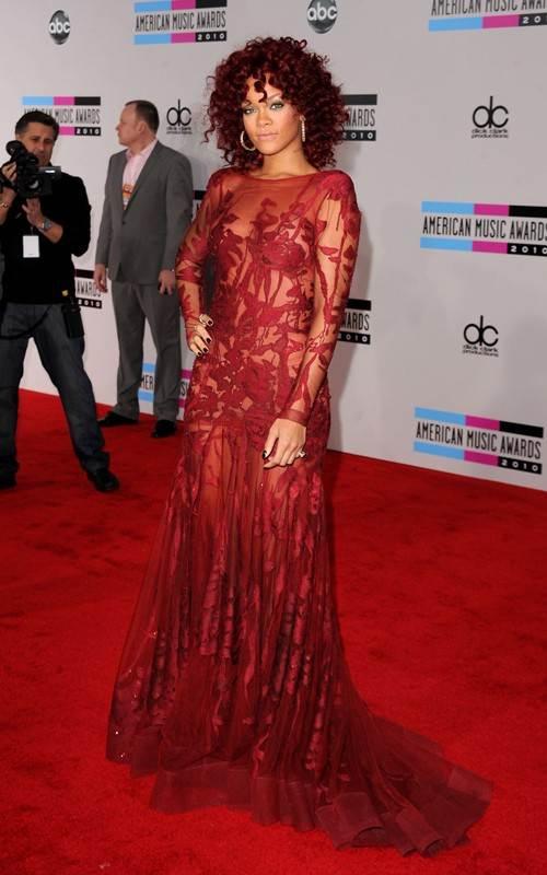 Rihanna at 2010 AMAs