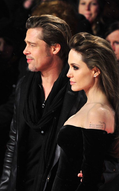 Angelina Jolie hairstyle The Tourist Berlin Premiere