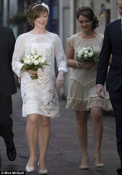 Billy Boyd and Ali Mckinnon get married