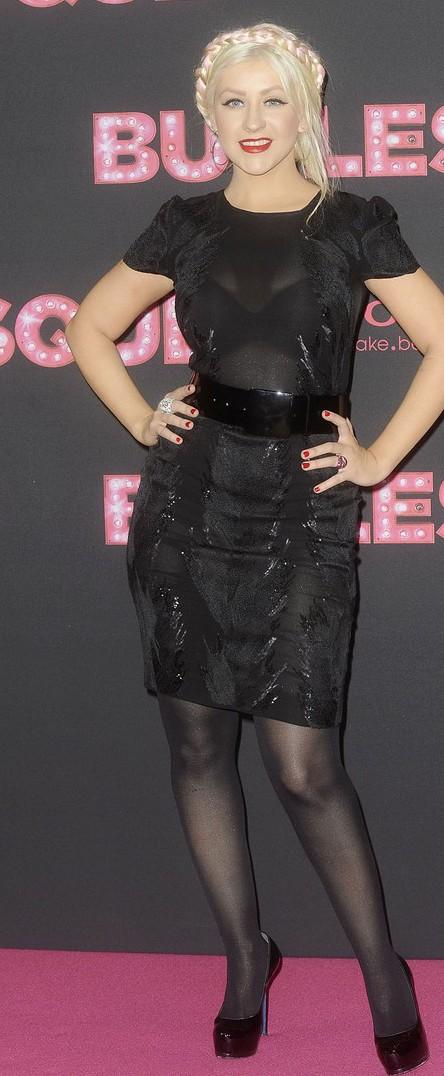 Christina Aguilera Fabulous At Burlesque Berlin Premiere