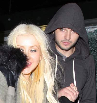 Christina aguilera is dating who