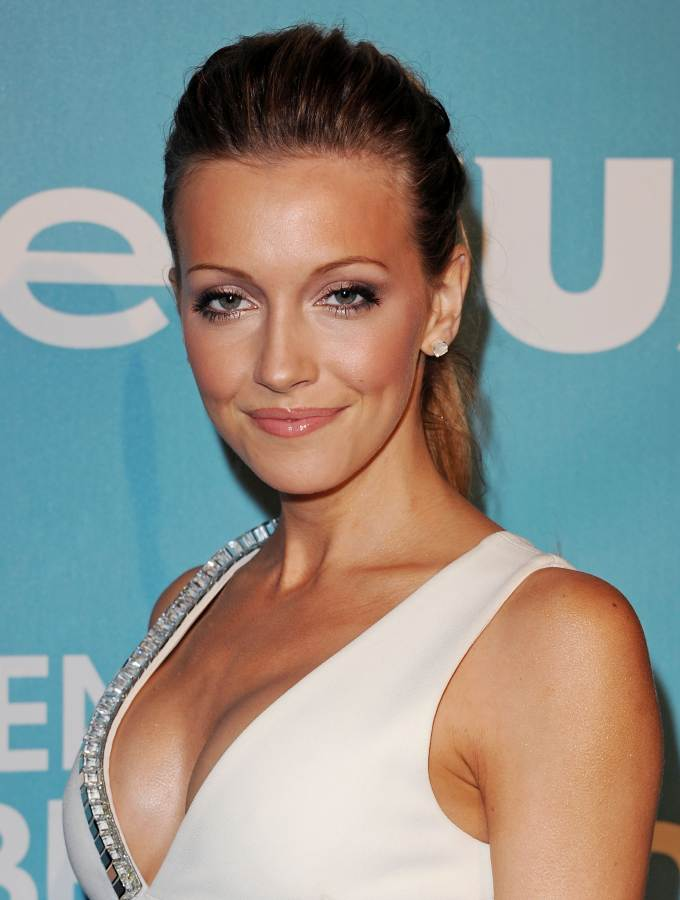 Katie Cassidy beautiful 2011 Golden Globe Awards Season