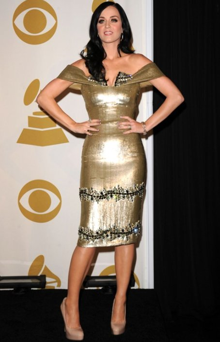 Katy Perry performs at Grammy Nominations concert