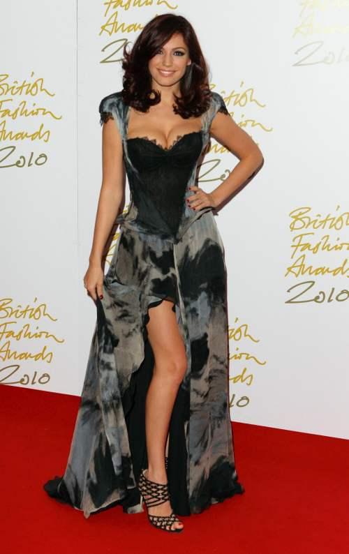 Kelly Brook  Suzie Turner gown 2010 British Fashion Awards