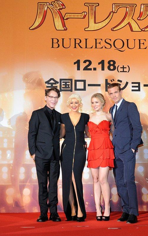 Kristen Bell at Burlesque Premiere